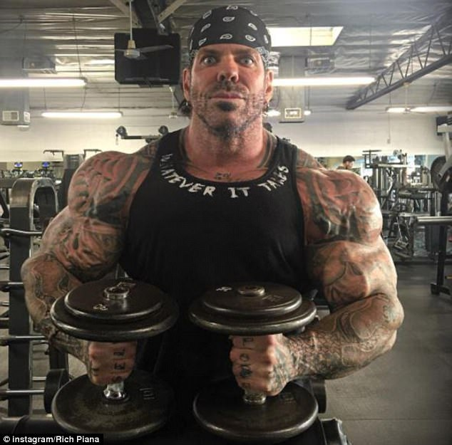Piana, the well known body builder and former Mr California, has admitted using steroids in the past,