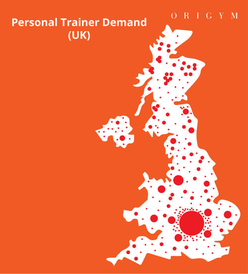 Personal trainer demand UK image