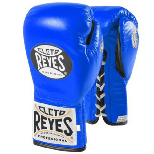 cleto reyes lace up professional boxing gloves